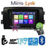 "Broz Swift 2007 Plug And Play OEM 7"" Mirror Link BT USB MP5 Player +Free Camera"