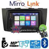 "Broz Swift 2012-2014 Plug And Play OEM 7"" Mirror Link BT USB MP5 Player +Free Camera"