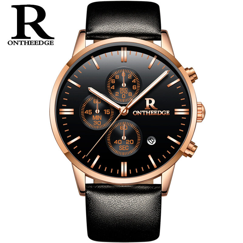 Switzerlands true belt waterproof business watches, students movement trend, multi-function non mechanical watches wholesale Malaysia