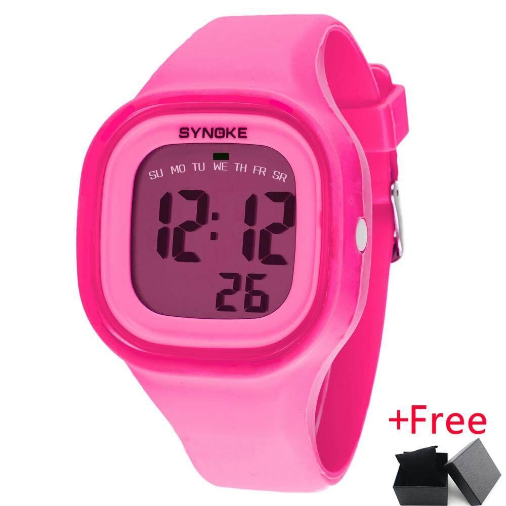 SYNOKE Brand LED Digital Watch Men Women Luxury Famous Sport Wrist Watch Male Female Clock Electronic