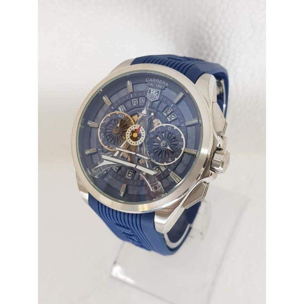 upto 90% Discount(T A G HEuer C A rrera Cal 1887 Paris Black Chronograph Watch)