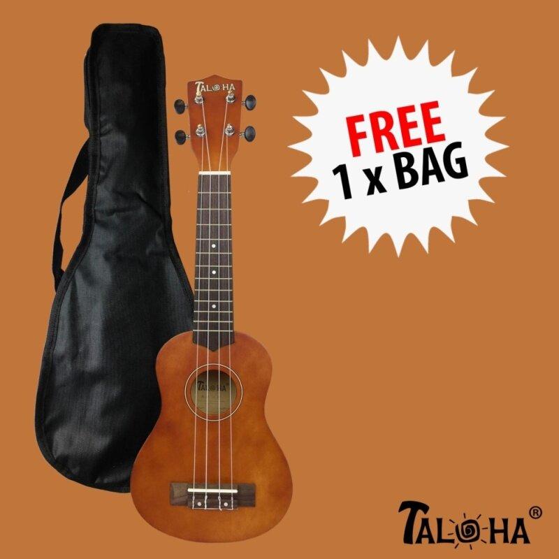 Taloha Soprano Ukulele (Original Brown) + Free Bag Malaysia
