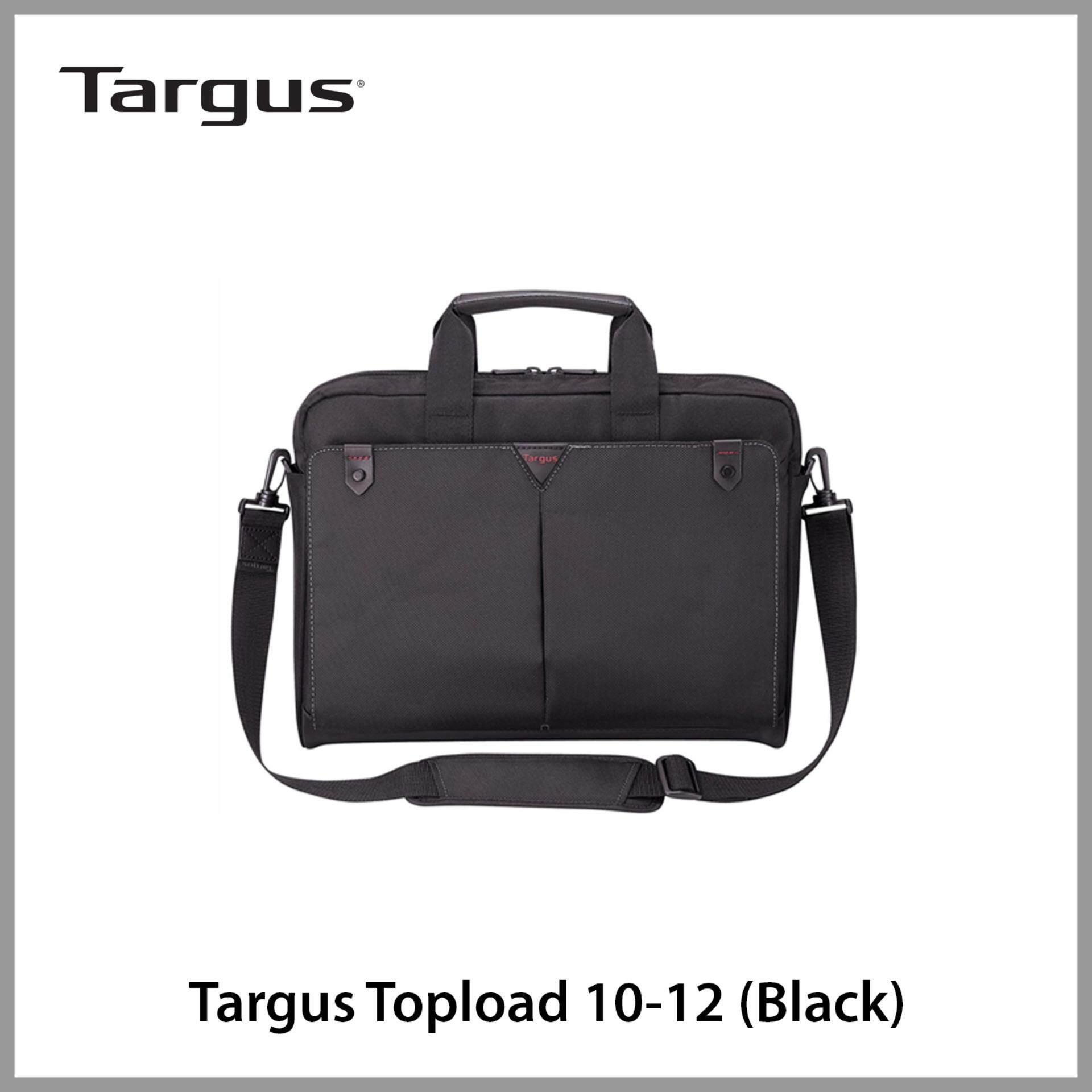 "Targus Topload 10 - 12.1"" Classic + Toploading Case (Black)"