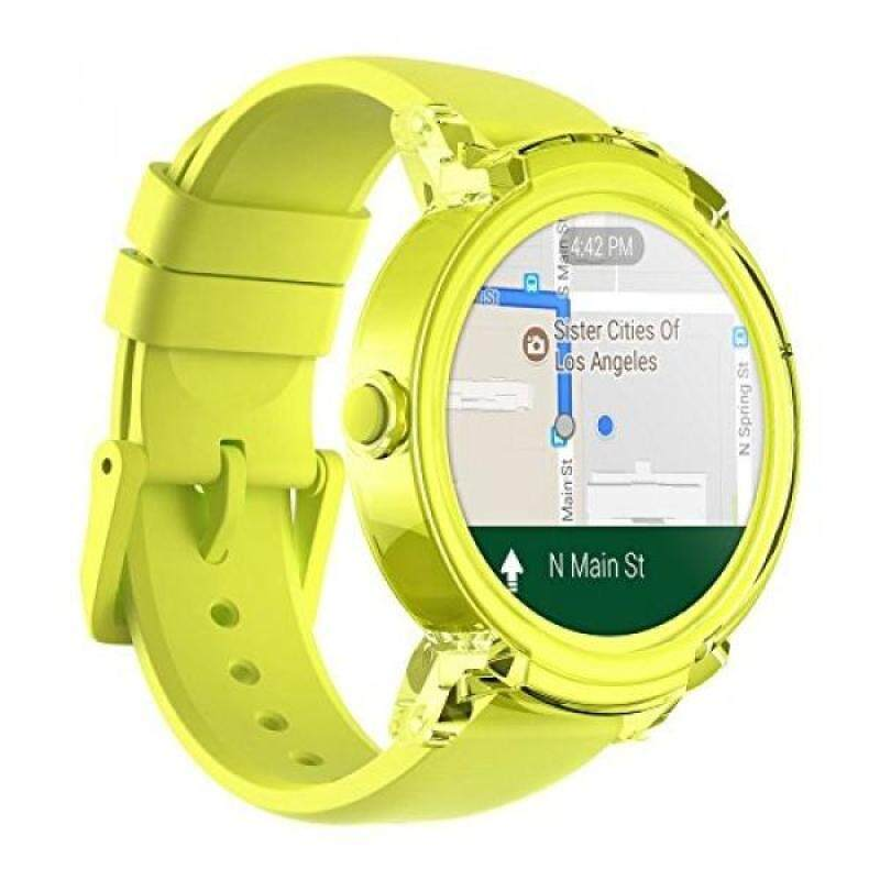Ticwatch E Super Lightweight Smartwatch-Lemon,1.4 inch OLED Display, Android Wear 2.0,Compatible with iOS and Android, Google Assistant Malaysia