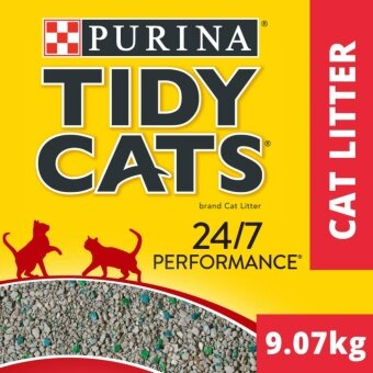 TIDY CATS(R) 24/7 Performance Non-Clumping Cat Litter Pack (1 Pack of 9.07kg)