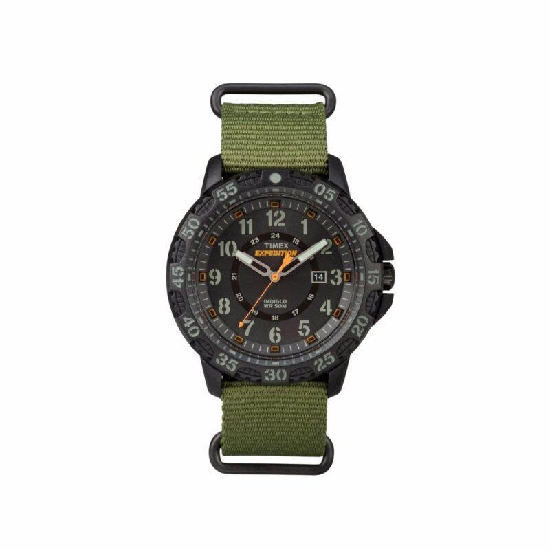 Timex Expedition® Gallatin - Green Nylon Strap - Black Case (TW4B03600) Malaysia