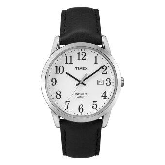 Harga Timex Men TW2P75600 Easy Reader(R) Genuine Leather Strap Watch