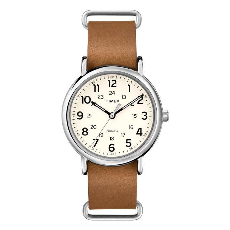 Timex Style-Weekender Weekender Slip-Thru Wkender Slp Thru Crm Dl Lbn Leatr St Malaysia