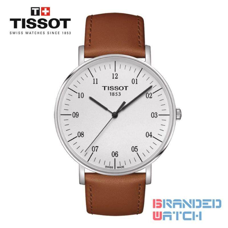 Tissot T109.610.16.037.00 Mens Everytime Large Quartz Leather Strap Watch Malaysia