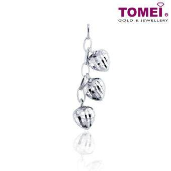 "Harga Tomei 9K White Gold Pendant ""Live, Laugh, Love!"" [Web Stores Exclusive]"