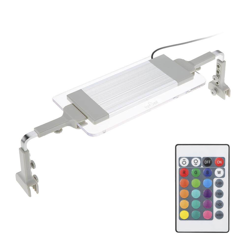 Tomshine Aquarium Light Smd5050 Ultra Thin Rgb Led Multi Color Changing With Ir 24 Keys Remote Control Flash Strobe Fade Smooth Visual Effect For Tank Intl ฮ่องกง