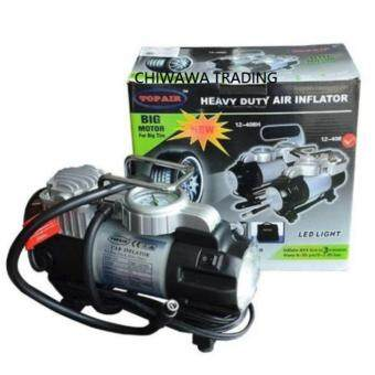TOPAIR 12-408 HEAVY DUTY Car Tyre Inflator Compressor Air Pump 12V DC