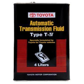 TOYOTA AUTOMATIC TRANSMISSION FLUID TYPE T-IV 4L