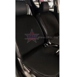 Toyota Hilux Revo High Quality Micro Fibre Anti Slip Grip Seat Mat (Black)