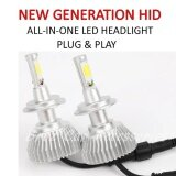 Toyota Hilux Vigo (Head Lamp) Z3 LED Light Car Headlight Auto Head light Lamp 6000k White Light