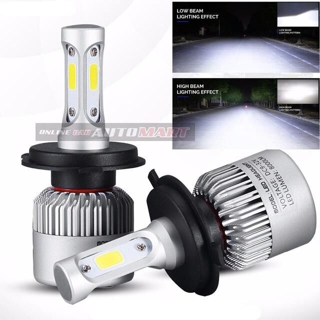Toyota Vellfire Yr 2006-2014/Vellfire Yr 2015-C6 LED Light Car Headlight Auto Head light Lamp 6500k White Light