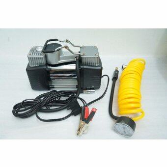 Twin-Cylinder Fast Inflating Inflator Tire Air Pump DC 12V 150 PSI Air Compressor