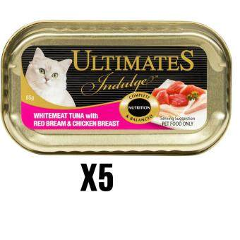 Harga Ultimates Indulge Whitemeat Tuna With Red Bream & ChickenBreast 85G