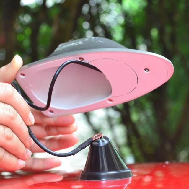 Universal Car Truck Van Roof Shark Fin Antenna Radio Signal AerialSilver