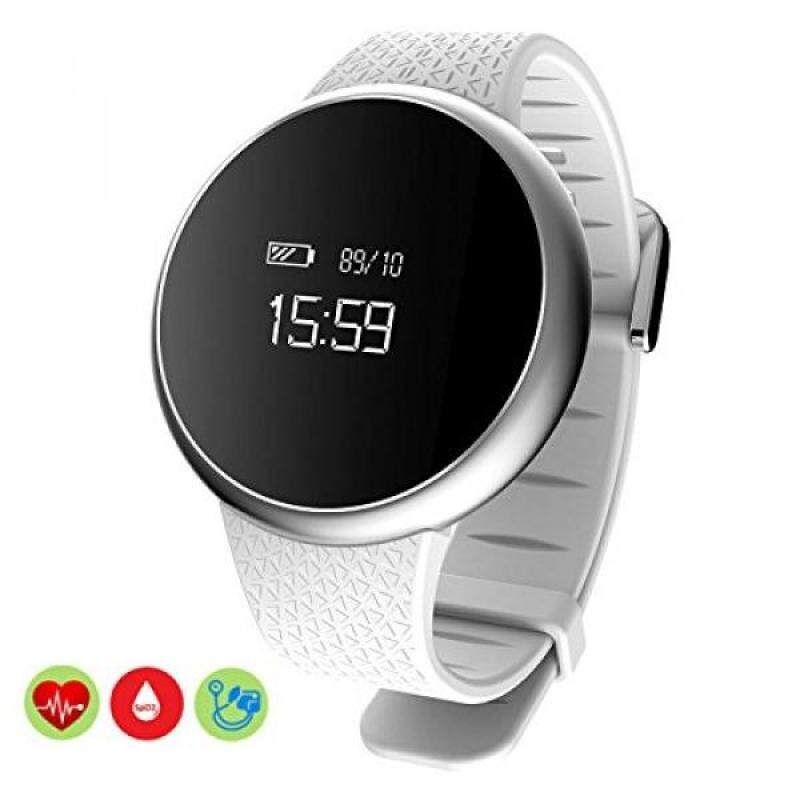 USA shippedBluetooth Smart Watch MOREFINE IP67 Waterproof Fitness Activity Tracker Sport Wristwatch For Android IOS with Heart Rate Blood Oxygen Pressure Monitor Fatigue Detection Sedentary Reminder Health Gift Malaysia