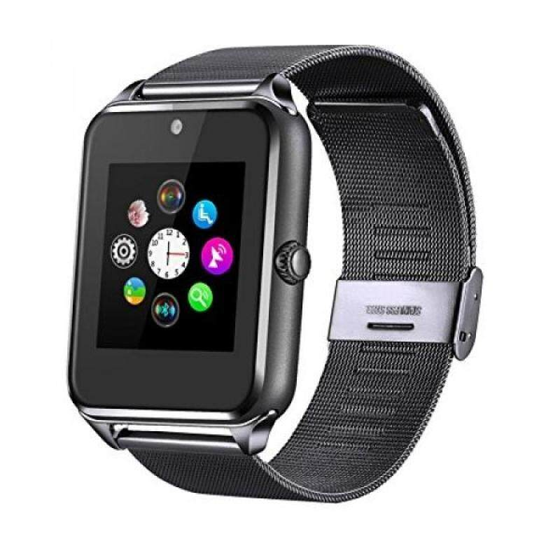 USA shippedFantime Bluetooth Smart Watch Phone, Wrist Watch Phone Support SIM Card SD for Android Smart Phones Malaysia