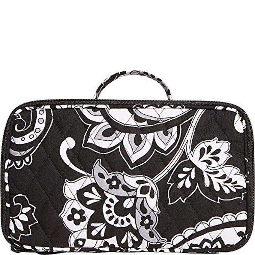 Vera Bradley Luggage Womens Blush & Brush Makeup CaseMidnightPaisley Luggage Accessory/ship from USA / Flyingcoco - intl