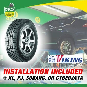 VIKING Tyre ( Subaru XV , Mazda M6 ) ProTech PT5 225/55R17 (withinstallation)