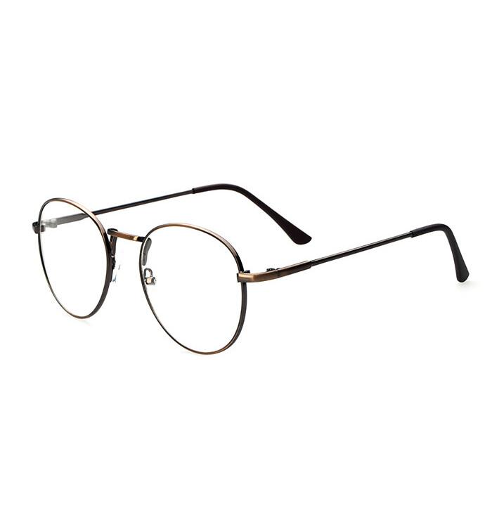 Vintage Unisex Kacamata Bingkai Kacamata Retro Spectacles Bening Lensa Kacamata Tiongkok Diskon
