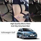 Broz Volkswagen Golf High Quality Micro Fibre Anti Slip Grip Seat Mat (Black)