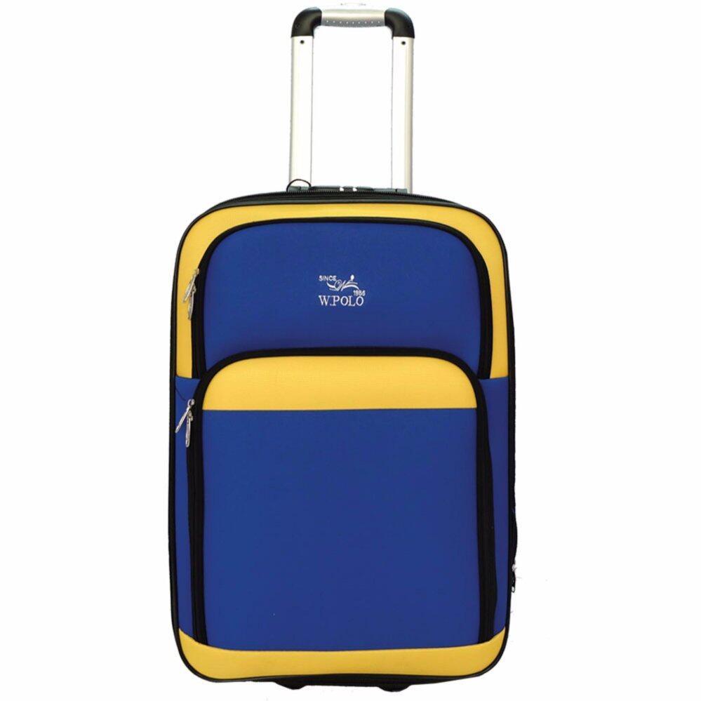 83d46d0bb9e W.POLO 28 inch 2 Wheels EVA Trolley Case- WE9617 (Blue Yellow