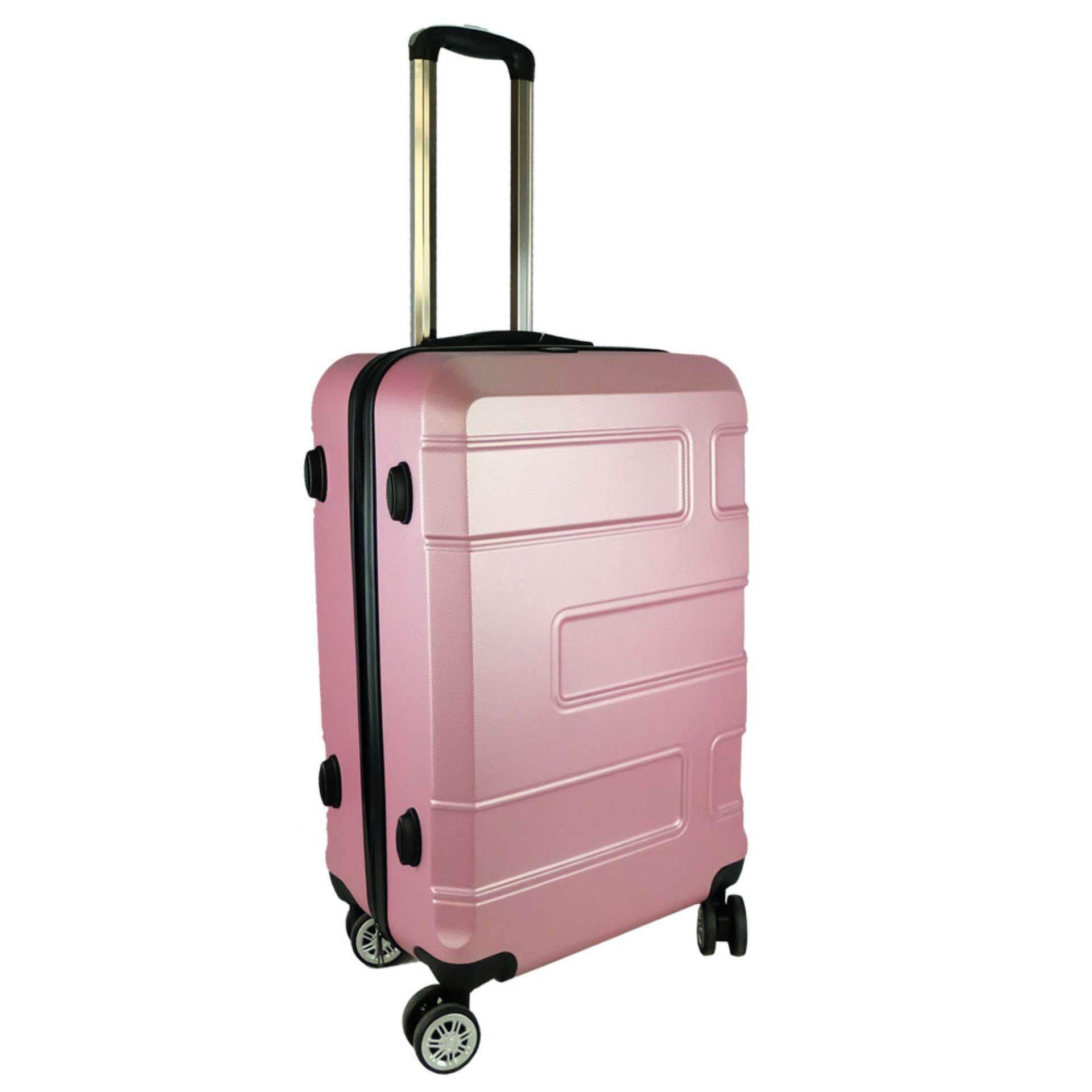 Waterpolo WA1792- 24 inch ABS Hard Case Trolley- Pink