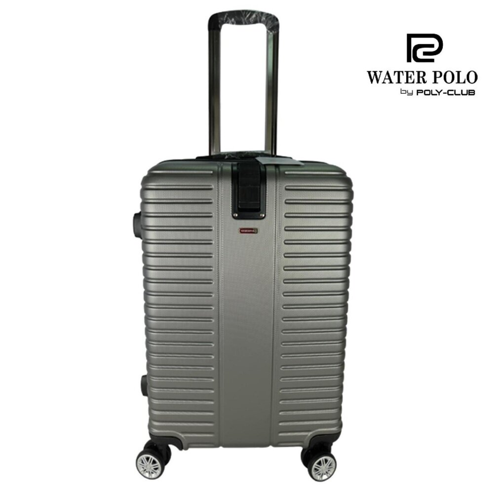 Waterpolo WA9621- 28 inch ABS Hard Case Trolley- Grey