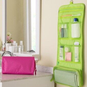 Harga Waterproof travel cosmetic bag