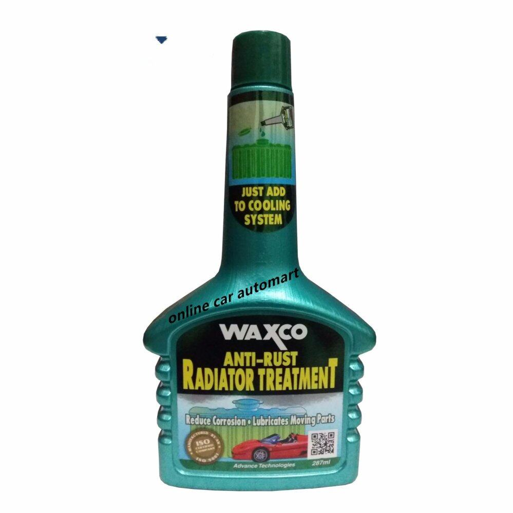 Waxco Anti-Rust Radiator Treatment