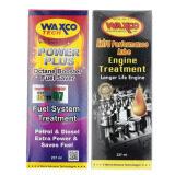 Waxco Extra Performance Lube Engine Treatment (237ML) + Free Waxco Tech Power Plus Octane Booster Fuel Saver (237ML)