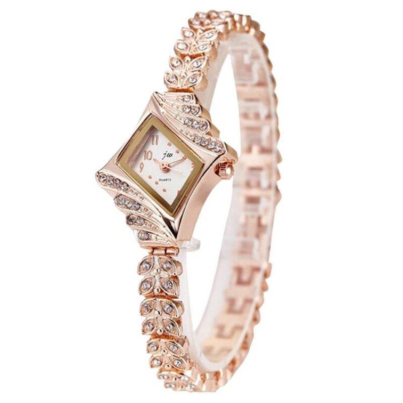Woman JW-009 Fashion Crystal Elegant Lady Dress Watch [Ready Stock] Malaysia