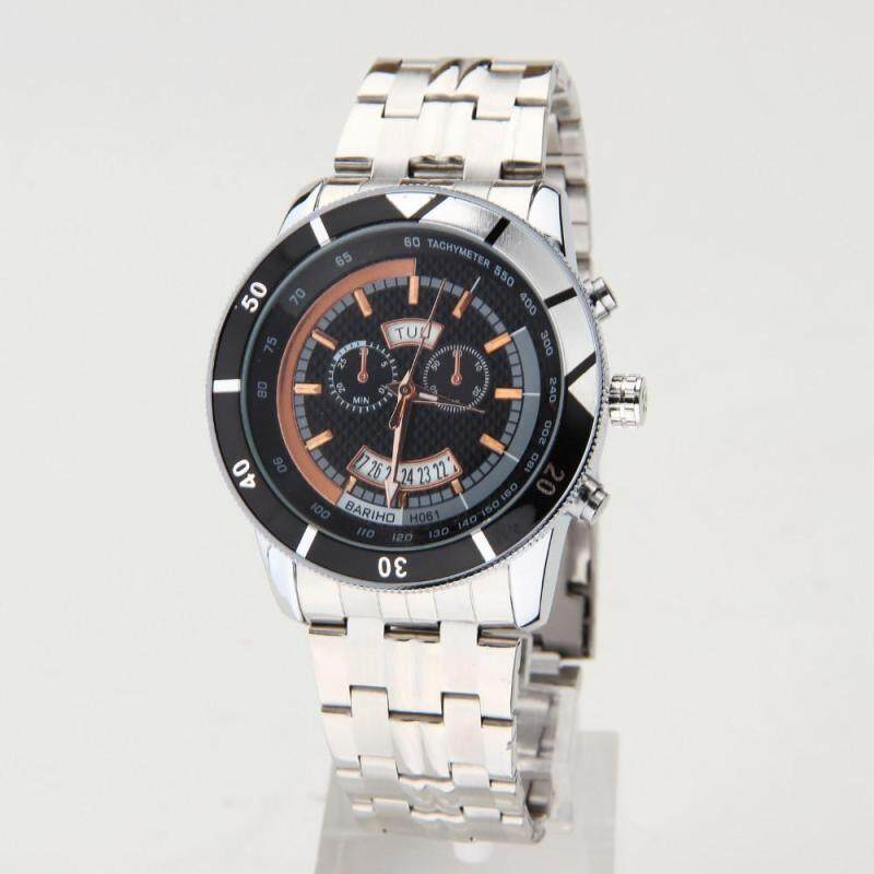Womdee 2016 Waterproof Full Steel Mens Watch Fashion Quartz Watches Men Auto Date Clock Men Casual Luxury Relojes Hombre Free Shipping (Brown) Malaysia