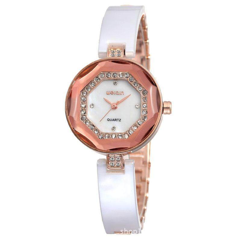 Womdee Watch watch manufacturers selling big luxury watches of Qin Wei ring edge bending Bracelet Watch stereo W4760 (Gold) Malaysia