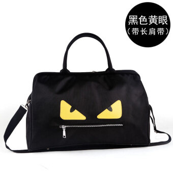 Harga Women Men's handbag large capacity small monster Korean-styleluggage bag