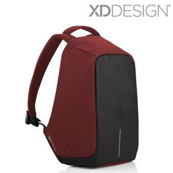 Harga XD Design Bobby Anti Theft Backpack - Red/Black/Grey