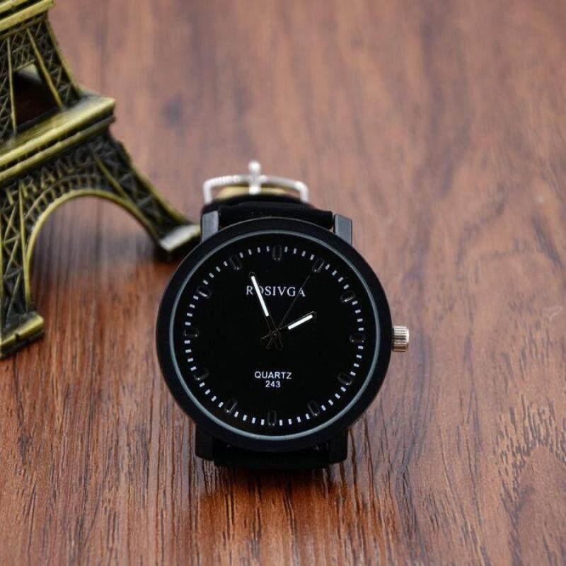YBC Fashion Unisex Watches Dial PU Leather Strap Casual Quartz Wristwatch Malaysia