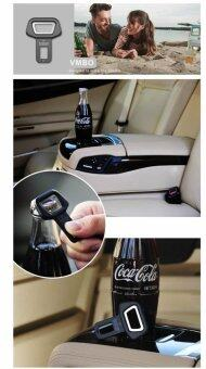 Yika 2pcs Car Vehicle Safety Seat Belt Buckle Insert Warning AlarmStopper + Opener (Black) - 4