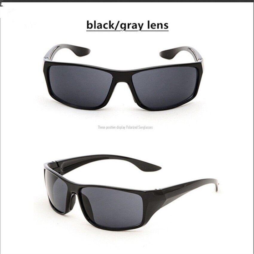 Yushong Vestey HD003 Pria Kacamata Bingkai Plastik Berkualitas Tinggi Malam Vision Kacamata Pengemudi Malam Mengemudi Cermin Lampu Kacamata Matahari Kacamata UV400-Internasional