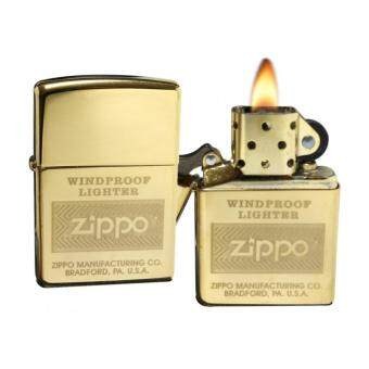 ZIPPO High Polish Brass Windproof Lighter 28145