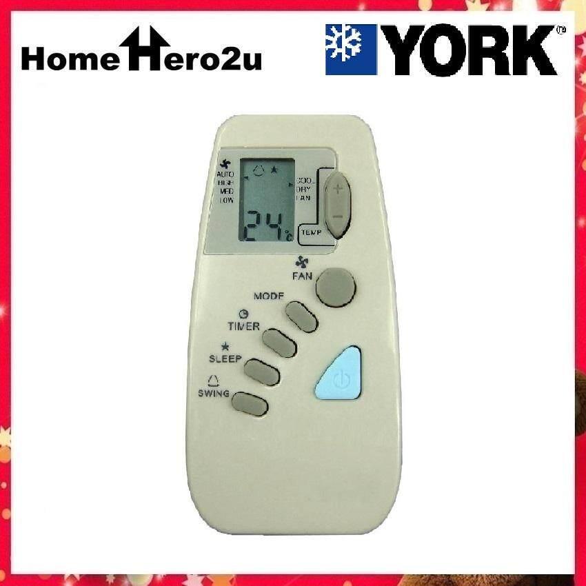 York Air-cond Remote Control Replacement - Homehero2u