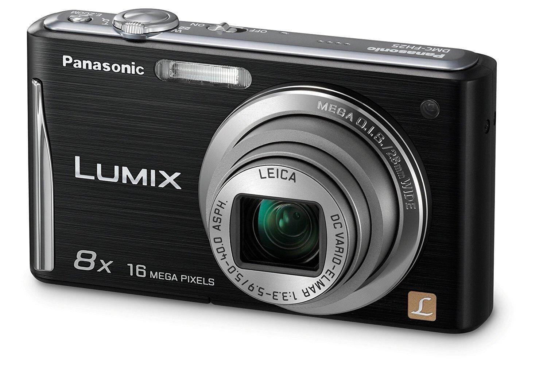 Panasonic Lumix DMC-FH25 16.1MP Point and Shoot Digital Camera (Black) with 8x Optical Zoom