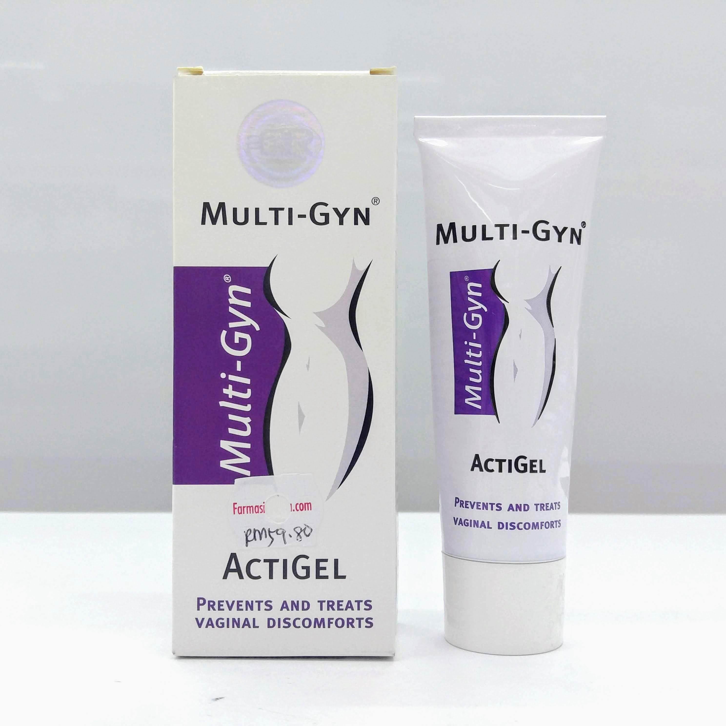 Multi-Gyn Vaginal ActiGel 50ml (Exp20/08)