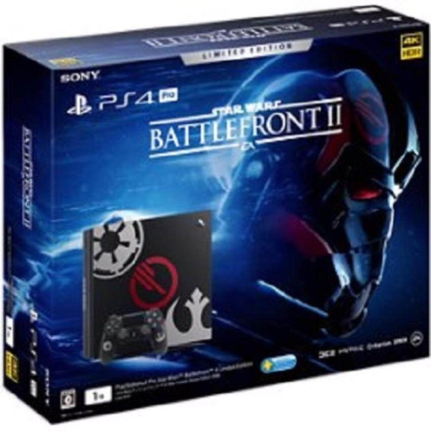 Sony PlayStation 4 PS4 Pro 1 TB Star Wars Battlefront II Limited Edition (Sony Malaysia Warranty)