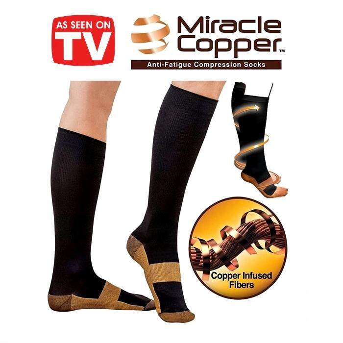 6c5fdb00dd5836 Comfortable Relief Soft Unisex Miracle Copper Anti-Fatigue ...