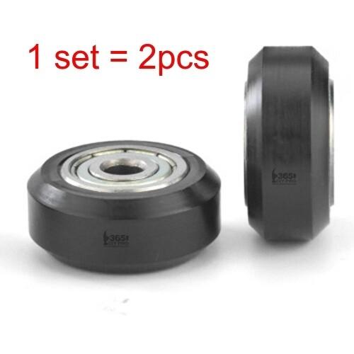 2pcs 3D Printer POM Wheel Plastic Pulley Linear Bearings for 2020 Aluminum Profile